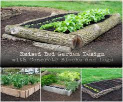 Small Picture Concrete Raised Garden Beds Garden Ideas Using Concrete Blocks