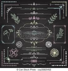 page rustic elements. Fine Elements Vector Hand Sketched Rustic Design Elements Dividers In Page Rustic Elements A