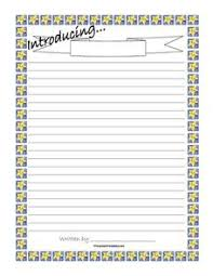 biography writing paper nd th grade printables template  biography writing paper printables template