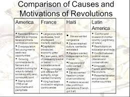 French And Haitian Revolution Comparison Essay Mistyhamel