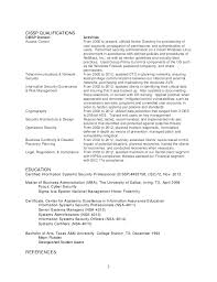 Security Forces Resume Security Resumes Information Technology It Cover Letter Example 98