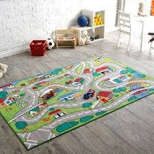 area rug simple runners dining room rugs in for kids cotton children s best play quality