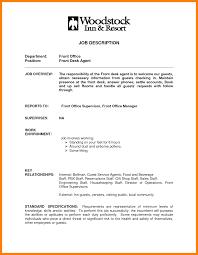 Hotelt Desk Clerk Resume Examples Sample Template