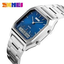 <b>SKMEI 1220 Quartz Digital</b> Wristwatches Men Fashion Casual ...