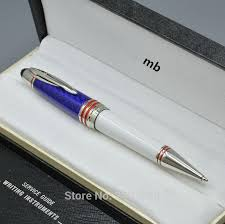 kennedy office supplies. John F. Kennedy Special Edition Monte White And Blue Ballpoint Pen With Jfk Clip School Office Stationery Supplies S