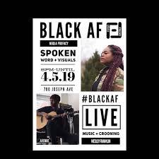 Black AF First Friday | The Ave