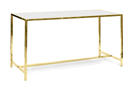 oslo communal table gold