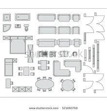 floor plan furniture symbols. Floor Plan Furniture Symbols Planning Architecture Plans Icons Download  Free Vector Art Office Software Floor Plan Furniture Symbols -