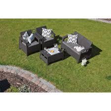 Набор садовой <b>мебели</b> Corfu set полиротанг коричневый: стол ...