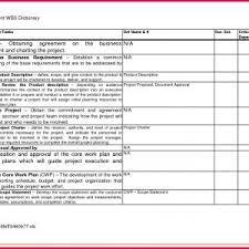 Business Requirements Document Template For Software Projects ...