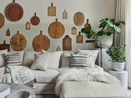designing behind the living room sofa