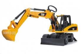 <b>Игрушка Bruder CAT экскаватор</b> колёсный 02-445, размер ...