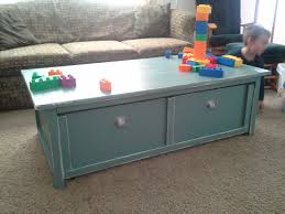 Toy Storage Coffee Table