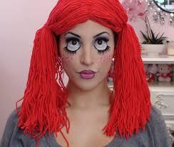 cute rag doll toy makeup tutorial