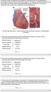 Solved A Common Cause Of Cardiovascular Disease Is Athero