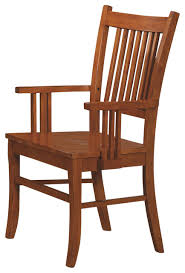 Image Solid Wood Marbrisa Missionstyle Medium Brown Finish Slatback Wood Arm Chairs Set Of Craftsman Dining Chairs By Flatfair Houzz Marbrisa Missionstyle Medium Brown Finish Slatback Wood Arm Chairs