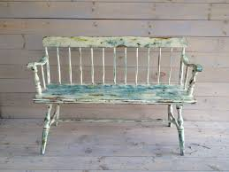 Vintage Wooden Bench Paint Antique Wooden Bench41