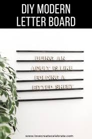 wall mounted wooden letter board love