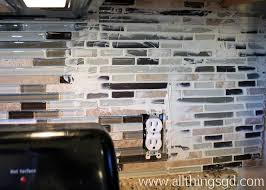How To Grout Tile Backsplash New Decorating Ideas