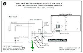 amp breaker 2 pole wiring diagram co ground fault circuit gfci box breaker box 2 pole wiring diagram amp gfci 40 panel