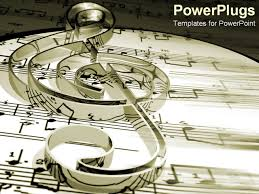 Music Powerpoint Template Best Photos Of Musical Note Powerpoint Template Music Note