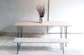 hairpin legs table homemade modern white washed table with hairpin legs hairpin leg coffee table uk