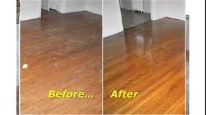 buffing hardwood floors you