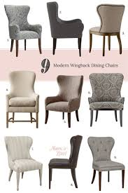 wing back dining chair. 9 Modern Wingback Dining Chairs | Making It Lovely Wing Back Chair L
