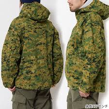 Sale Sale Product Returned Goods Military Military Usmc Woodland Marpat Hs Parka Jacket Outer Food Parka Hardware Shell Waterproofing Duck