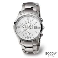 17 best images about watches men s watches black boccia titanium white sapphire crystal dial titanium case and band mens watch 3776 05 chronograph