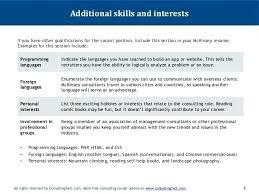 skill for resume examples resume language skills sample 7 8 additional  skills foreign language skills resume