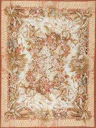 french rugs 8 x hand woven wool rug needlepoint for antique aubusson