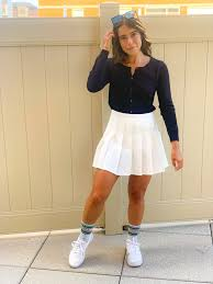 Alibaba.com offers 1,318 tennis outfit products. How A Fashion Editor Styles A Tennis Skirt Popsugar Fashion