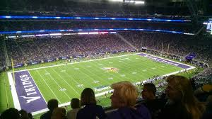 Us Bank Vikings Seating Chart U S Bank Stadium Section 345 Minnesota Vikings