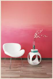 pink wall paintColorfully BEHR  How to Paint an Ombre Wall