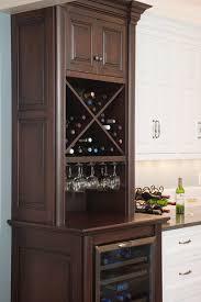 built in wine fridge. Built In Wine Cooler Cabinet Mahogany Wood Stainless Steel Storage Fridge E