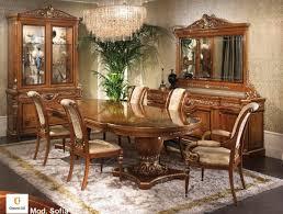 Klassische Möbel Für Esszimmer Klassisch Eingelegten Tisch