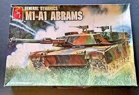Amt Ertl M1 A1 Abrams General Dynamics 8675 1 35 Scale 1989 36881086758 Ebay