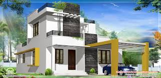 Modern 3 Bedroom House Design Floor Plan And Elevation Of 2203 Square Feet 205 Square Meter