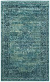decorating turquoise power loomed vintage area rugs vtg112 2220 by