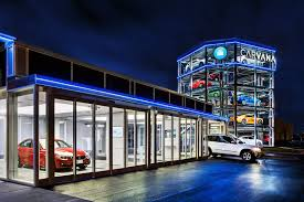 Vending Machine Houston Mesmerizing A fivestory vending machine for cars just opened in Nashville The