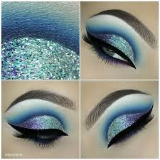 purple blue mermaid make up ko te by evatornado