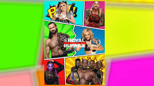 WWE Royal Rumble 2021 Custom Poster Remake | How To Remake WWE Royal Rumble  2021 Custom Poster - YouTube