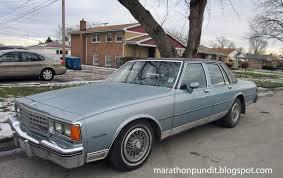 Marathon Pundit: 1985 Chevrolet Caprice Classic