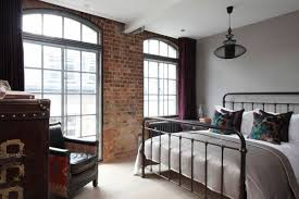 Modern Loft Apartment Bedroom Luxury Loft Apartment Bedroom Brick Wall - Loft apartment brick
