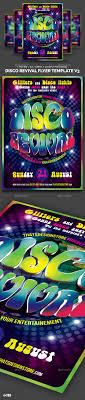 disco revival flyer template v by lou graphicriver disco revival flyer template v3 clubs parties events