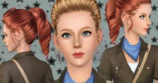 YU162 Leona - Custom Sims 3