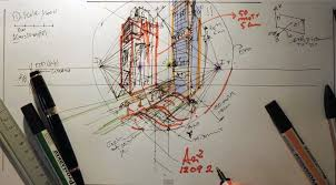 architecture design drawing techniques. How To Draw With Two Points Perspective | Architecture Drawing Tutorials Design Techniques T