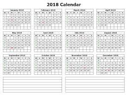 Microsoft Office Calendar Template 2018 - Www.wellnessworks.us