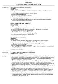 Administration Associate Resume Samples Velvet Jobs